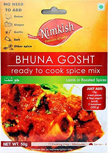 Bhuna Gosht Masala -Indian Ready To Cook Spice Mix - 50g (1.76 OZ)