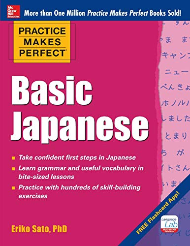 Practice Makes Perfect Basic Japanese