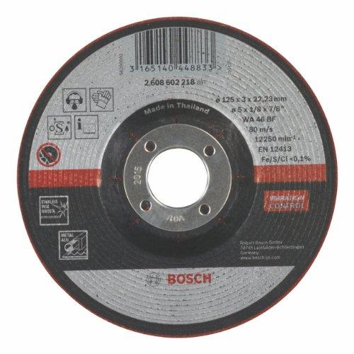 Bosch Professional 2608602218 Schleifzubehör Schruppsch.125 x 3  mm f.Metall SemiFl