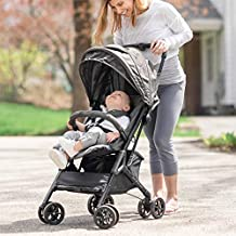 Baby Delight Go with Me Dart Ultra-Compact Stroller, Charcoal Tweed (BD05340)