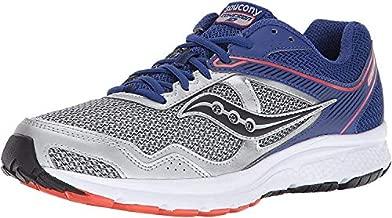 Saucony Men's Cohesion 10 Running Shoe, Silver Blue, 10.5 M US