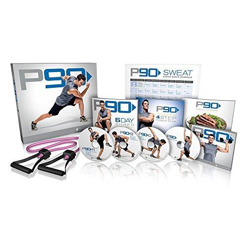 Beachbody Tony Horton's P90 4 DVD Boxset Workout Exercise Programme Base...