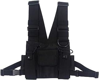Chest Rig Bag Hip Hop Streetwear - Ri?onera funcional para hombre, bolsillos ajustables