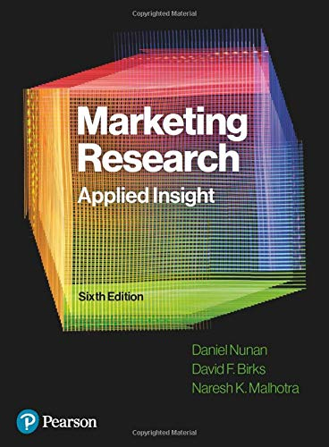 Marketing Research: Applied Insight, 6th Edition
