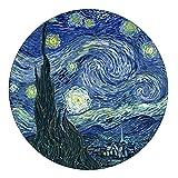 Van Gogh - Pisapapeles de cristal abovedado