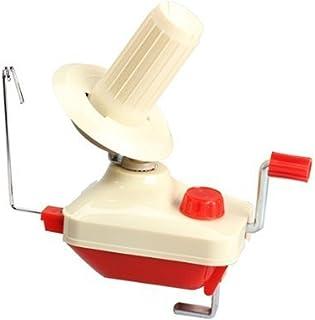 HOUSWEETY ハンドウール ワインダー 糸巻き器 毛糸玉巻き器 編み物 輪針 マフラー 編棒 毛糸だま ニット ワインディングマシーン ホルダー(玉巻器)