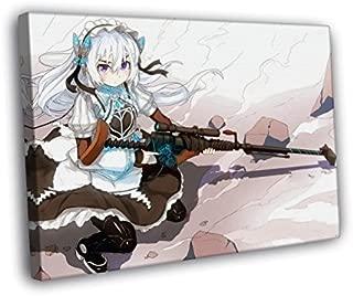 H5V6413 Chaika The Coffin Princess Hitsugi no Chaika Avenging Battle Rifle Anime Manga Art 50x40 FRAMED CANVAS PRINT