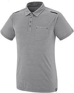 MILLET 觅乐 徒步系列 男士 IMJA WOOL POLO短袖T恤 MIV7695