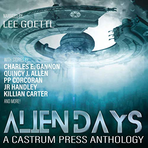 Alien Days Anthology: A Science Fiction Short Story Collection audiobook cover art