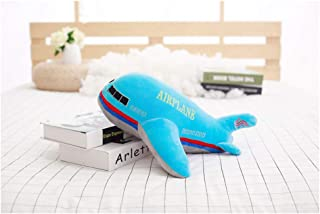HYL World 15.7 Inches Aircraft Plush Toy - Airplane Stuffed Toy Blue