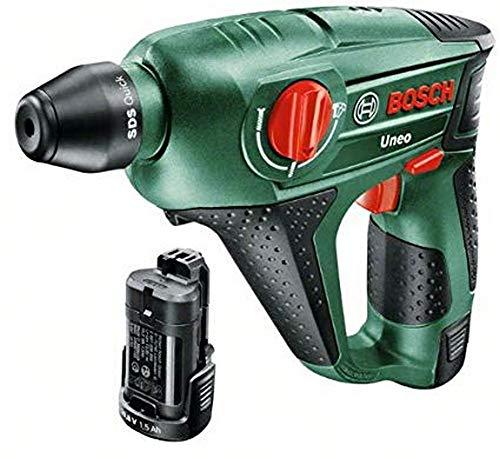 Bosch Akku Bohrhammer Uneo (2 Akkus, 10,8 Volt, im Koffer)