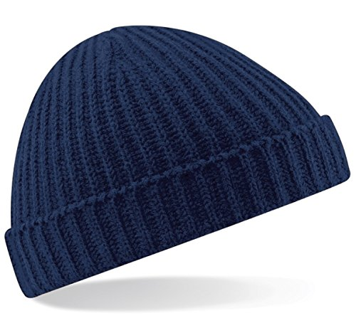 Beechfield Trawler Beanie One Casquette de Baseball, Blue (French Navy), Taille Unique Mixte