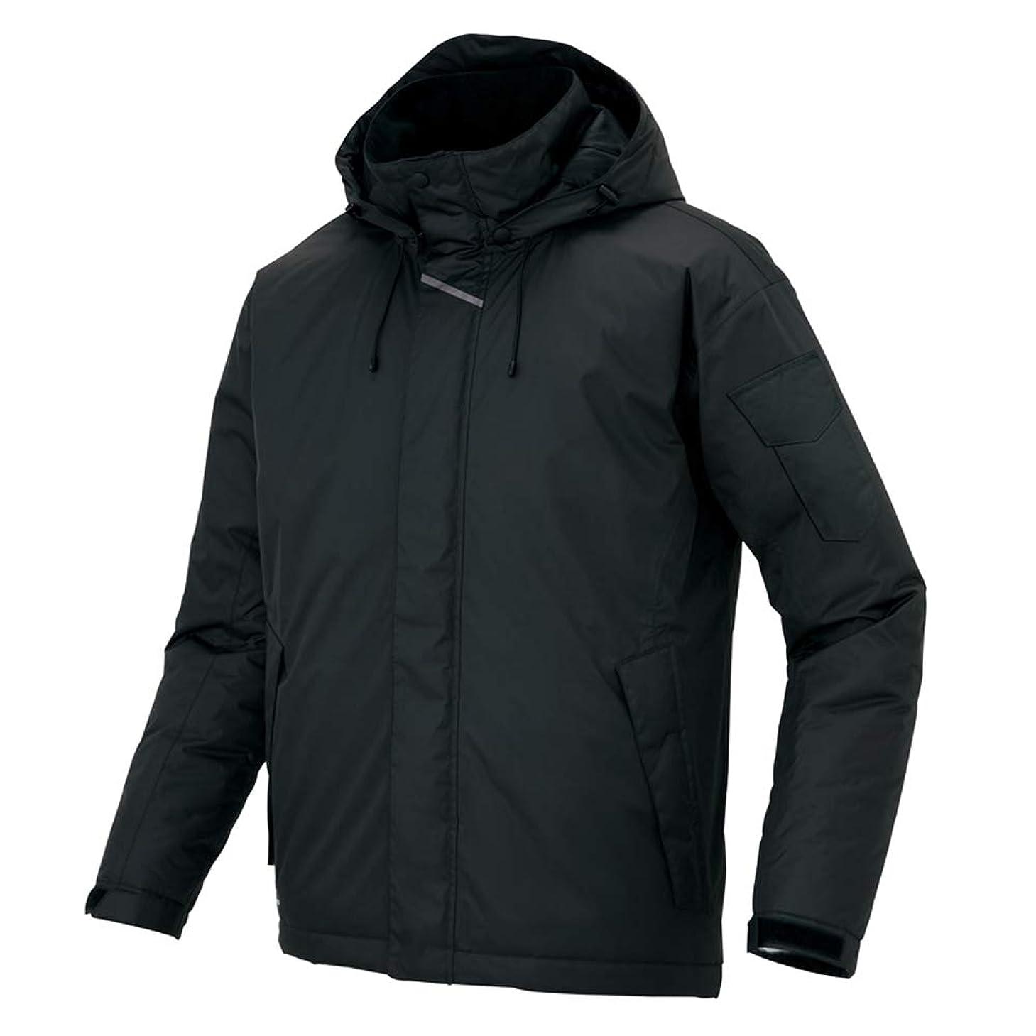 剥ぎ取る予想外スタウトアイトス AITOZ 防水防寒コート(男女兼用) AZ8870 010 ブラック L