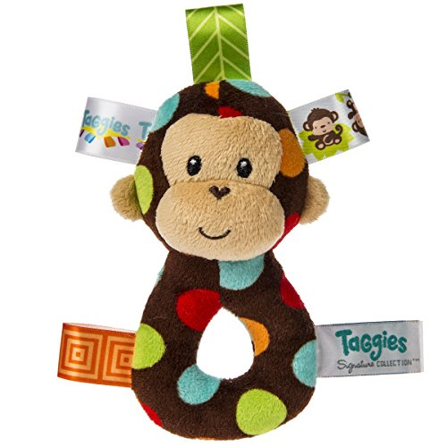 Taggies Dazzle Dots Monkey Rattle