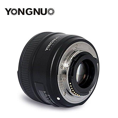 Dailyinshop YONGNUO YN35N Objetivo de Enfoque Fijo F2.0 Gran Angular para Cámaras Réflex Digitales Nikon (Color Negro)