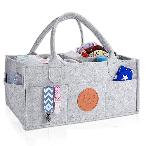 Luier Van De Baby Caddy Organisator Grote Organisatoren Opslag Voor Nursery Portable Diaper Mand Voor Changing Station Past Commode Registry Gift