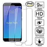 [2 Unidades] Guran® Protector de Pantalla Vidrio Cristal Templado Para UMIDIGI C Note 2 Smartphone Glass Film