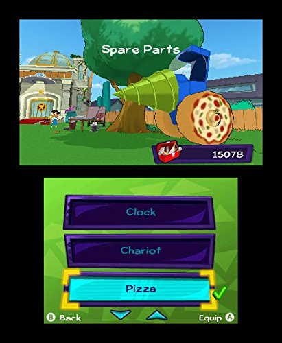 Amazon Com Phineas And Ferb Quest For Cool Stuff Nintendo 3ds Majesco Sales Inc Video Games