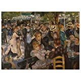 JUNIWORDS Poster, Pierre Auguste Renoir, Bal du moulin de