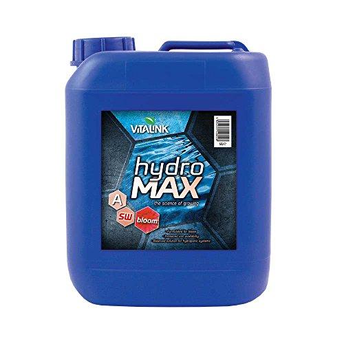 VitaLink Hydro Max Bloom per Acqua Dolce 5L A&B Set-IT Nutriente, Blu, 13x19x26 cm