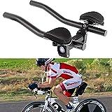 Delleu TT Manillar Aero Bars Triathlon Cycling Bike Rest Manillar para Bicicleta Aerobars para Bicicleta de Carretera