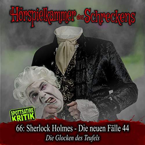 Page de couverture de Sherlock Holmes - Die neuen Fälle 44 - Die Glocken des Teufels
