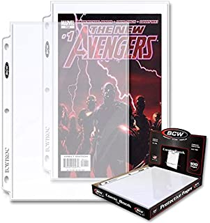 50 Count BCW PROC Comic Book Pocket Pages ( 50 Sheets )