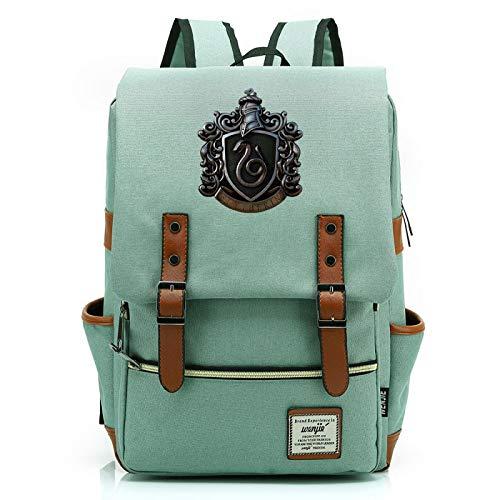 MMZ Mochila escolar de Harry Potter, mochilas para niños y niñas con estampado de Hogwarts, mochila para viajes escolares 38x27x12.5cm (#34)