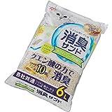 アイリスオーヤマ システムトイレ用 におわない消臭サンド クエン酸入り ホワイトソープの香り 猫用 6L