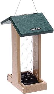 Birds Choice Whole Peanut Blue Jay Feeder with Green Roof