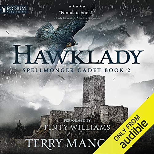Hawklady audiobook cover art