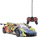 Camión distancia 1 control: 18 Escala de coches de alta velocidad, Carreras Deporte modelo de simulación de coches Hobby vehículos de juguete for ni usted ni como adultos con luces y Controlador jiany
