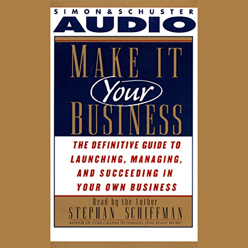 Make It Your Business audiobook cover art