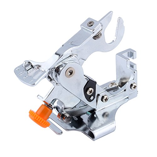 Yosoo Ruffler Sewing Machine Presser Foot Fits All Low Shank Singer Babylock Brother JanomeJuki New Home Necchi and Elna Sewing Machine