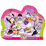 Dino Toys 311282 Mickey & Friends - Puzzle con Marco,, diseño de Mickey & Friends