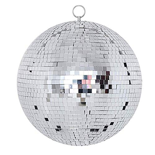 NuLink 12' Disco Light Mirror Ball with Hanging Ring