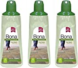 (3 Pack) Bona Stone, Tile & Laminate Floor Cleaner Cartridge, 34 oz