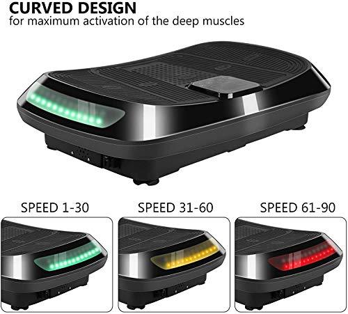 bigzzia 3D Vibration Plate Exercise Machine