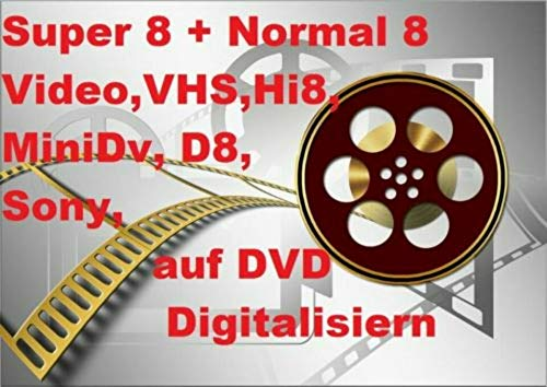 120 Meter SUPER 8 auf DVD Projektor DIGITALISIEREN ÜBERSPIELEN KOPIEREN