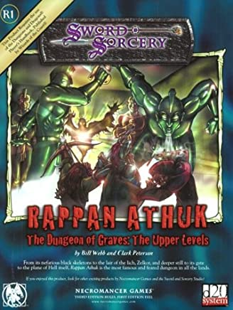 Rappan Athuc: The Dungeon of Graves : The Upper Levels