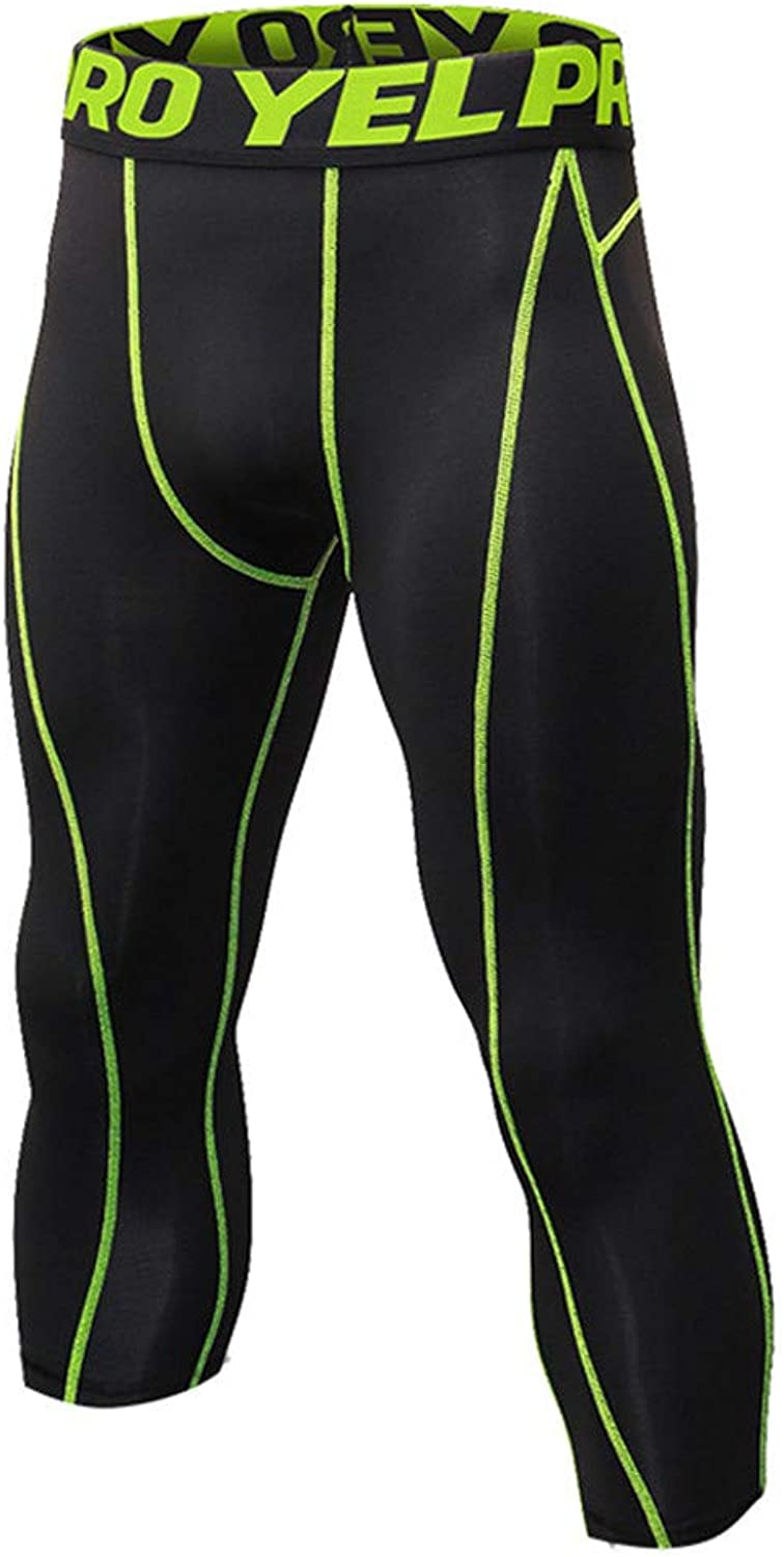 Mounting Painting Compression Pants Long Tights Sports Workout Fitness Yoga Running Leggings For Men Exercise & Fitness