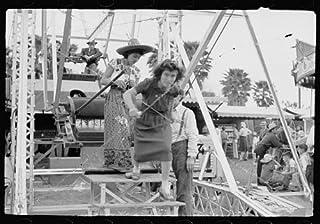 HistoricalFindings Photo: Ferris Wheel Ride,Carnival,Brownsville,Texas,TX,February 1942,Arthur Rothstein,2