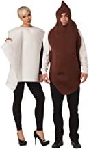 Rasta Imposta Poop and Toilet Paper 2 Piece Couples Costume Mens Womens Adult