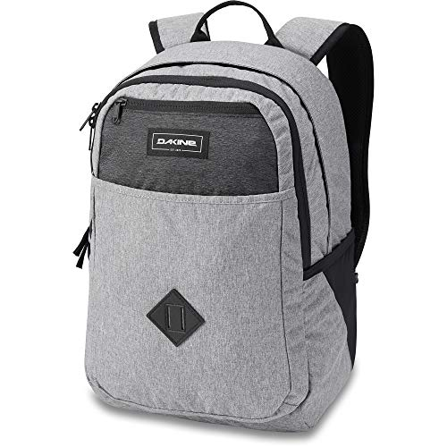 Dakine Essentials Pack Backpack, Travel Backpack for School, Office and University, Bagpack and Daypack with Laptop Pocket, Back Foam Padding and Breathable Shoulder Straps, Greyscale, 26 L
