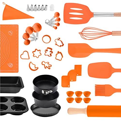 Pak 45-Pc Baking Utensils Set, Kitchen Utensils Set, Cake Baking Set, Baking Supplies, Cooking Utensils Set, Cake Decorating, Kitchen Utensils, Kitchen Set, Bakeware Sets, Baking Sets, Baking Pans