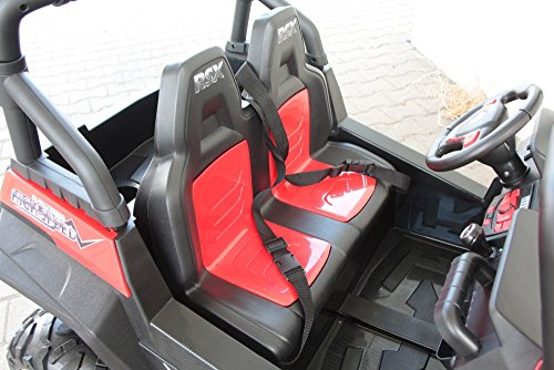 RC Auto kaufen Kinderauto Bild 6: OFFROAD UTV ALLRAD 4x45W 2x12V Elektroauto Kinder Elektro Auto Kinderfahrzeug Ferngesteuert Elektro (Weiss)*