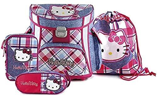 Hello Kitty Kinder-Rucksack 16299, Pink/Hell Blau