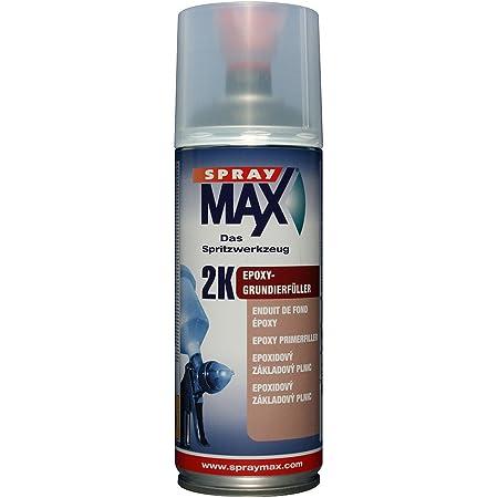 Kwasny 680 034 Spraymax 2k Epoxy Grundierfüller Schwarz 400ml Auto