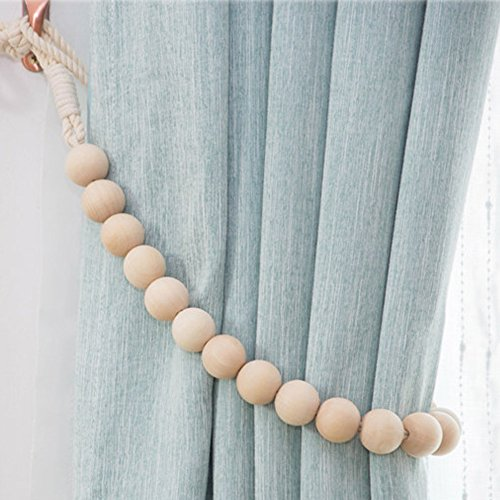 pieces natural cotton curtain tie backs