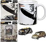 Zep One Rock Led Zeppelin Album Pop Culture Cars Bundled with Tour Bus & Austin Mini & Coffee Mug Cover Design 3 Items
